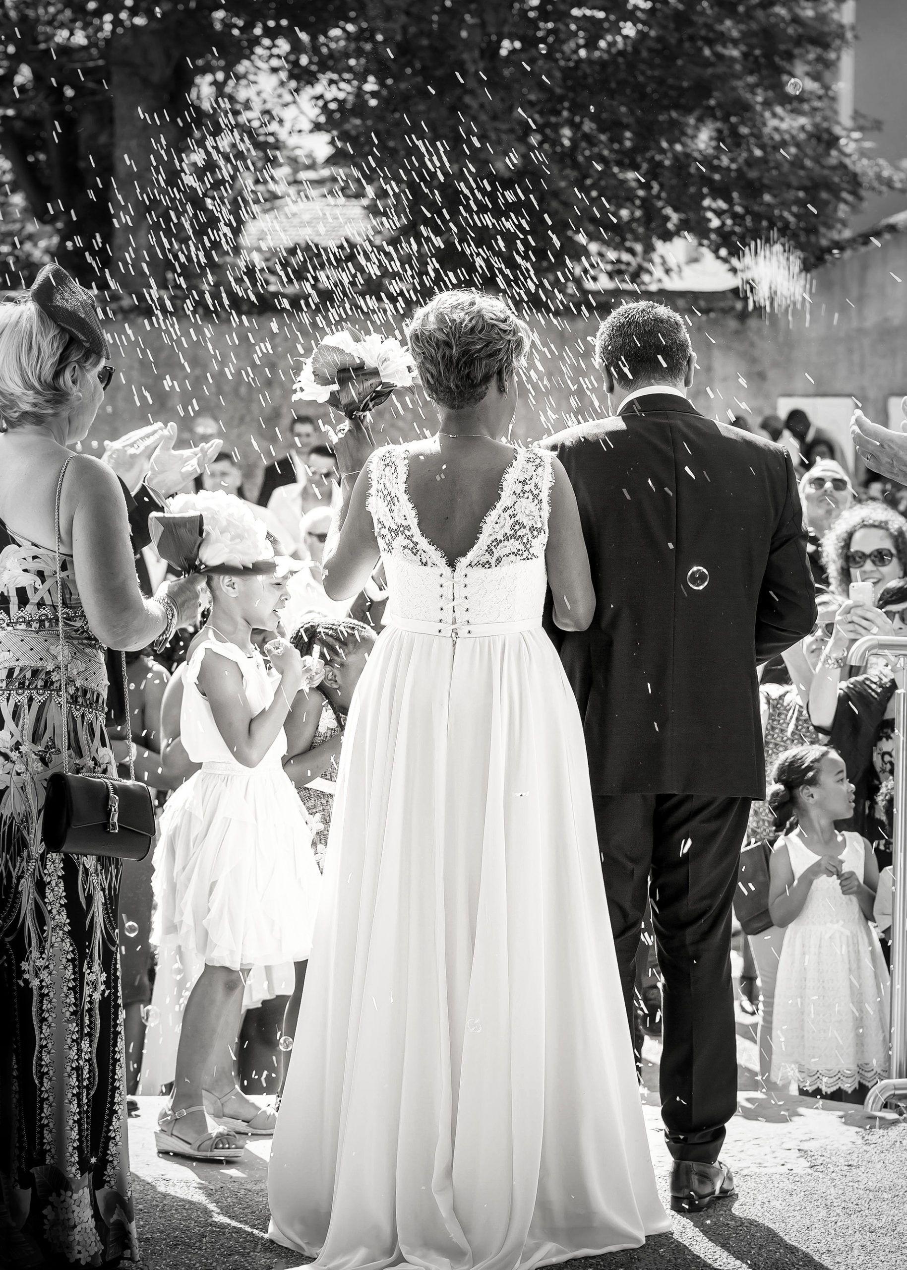 photgraphie de mariage église de Vienne 38