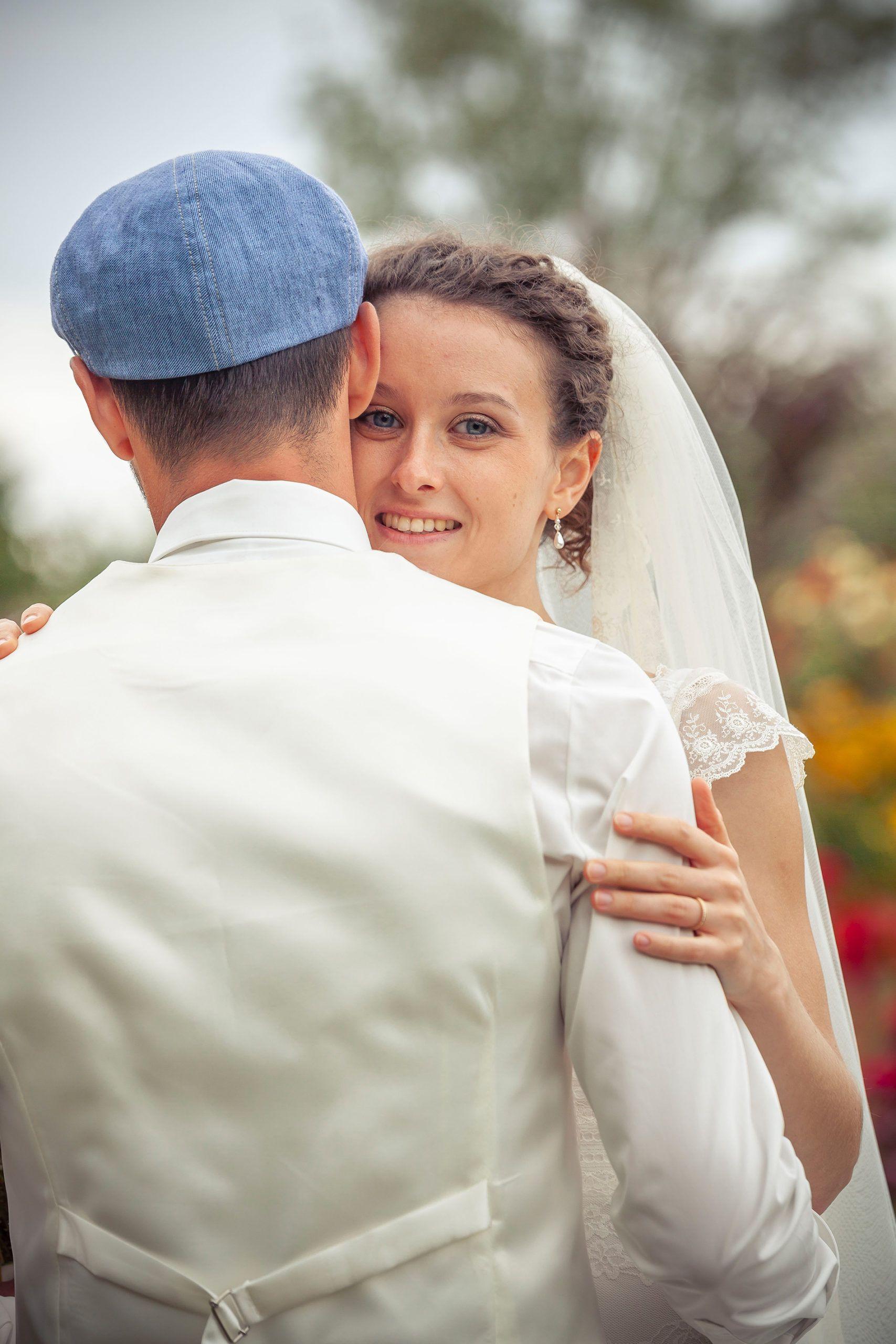 Photographie Vienne mariée heureuse